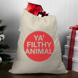 Ya' Filthy Animal Christmas Santa Sack
