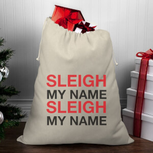 Sleigh My Name, Sleigh My Name Christmas Santa Sack