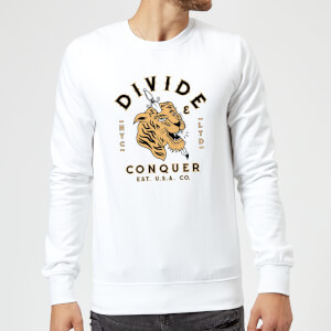 Tiger Tattoo Sweatshirt - White