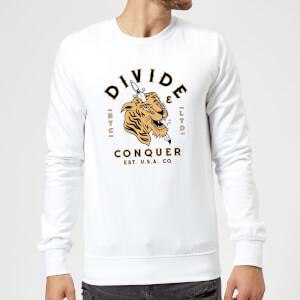 Tiger Tattoo Sweatshirt - White