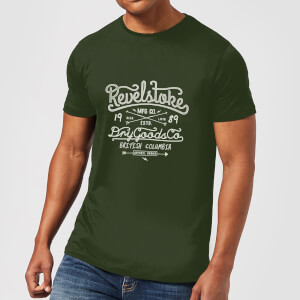 Revelstokes Men's T-Shirt - Forest Green