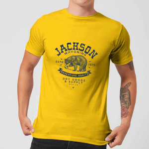 Jackson Men's T-Shirt - Yellow