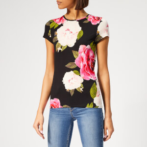 Ted Baker Women's Alanyo Magnificent Fitted T-Shirt - Black