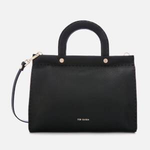 Ted Baker Women's Monicaa Stab Stitch Midi Tote Bag - Black