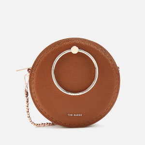 Ted Baker Women's Madddie Stab Stitch Circle Bag - Brown