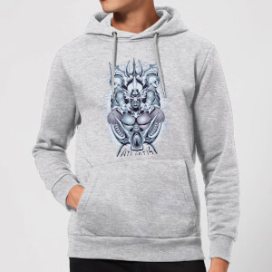 Aquaman Atlantis Seven Kingdoms Hoodie - Grey