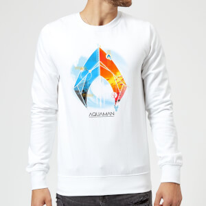 Aquaman Back To The Beach Sweatshirt - White