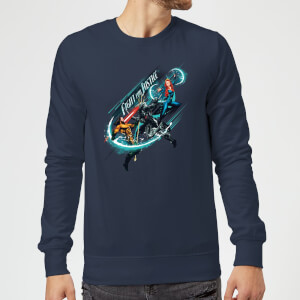 Aquaman Fight for Justice Sweatshirt - Navy
