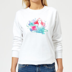 Aquaman Mera First Princess Women's Sweatshirt - White