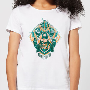 Aquaman Seven Kingdoms Women's T-Shirt - White