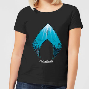 Aquaman Deep Women's T-Shirt - Black