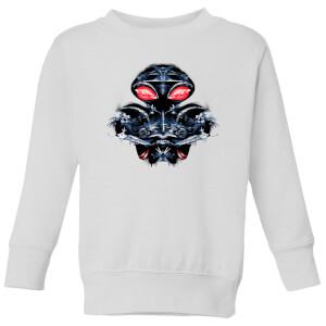 Aquaman Black Manta Sea At War Kids' Sweatshirt - White