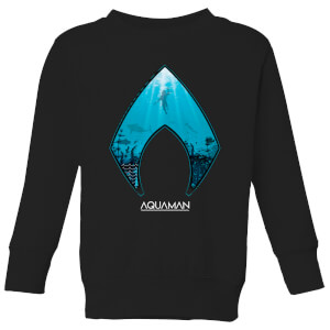 Aquaman Deep kindertrui - Zwart
