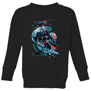 Aquaman Black Manta & Ocean Master Kids' Sweatshirt - Black