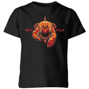 Aquaman Brine King Kinder T-Shirt - Schwarz