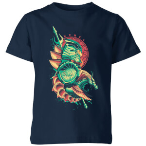 Aquaman Xebel Kids' T-Shirt - Navy