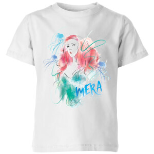 Aquaman Mera Kids' T-Shirt - White