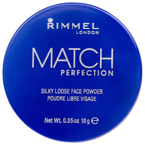 Rimmel Match Perfection Loose Powder -irtopuuteri, Transparent