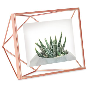 Umbra Prisma Photo Frame - Copper - 4 x 6 Inches (10 x 15cm) (Free Gift)