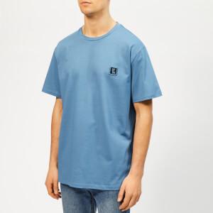 Wooyoungmi Men's Basic T-Shirt - Blue