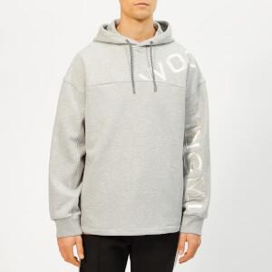 Wooyoungmi Men's Logo Hoodie - Grey
