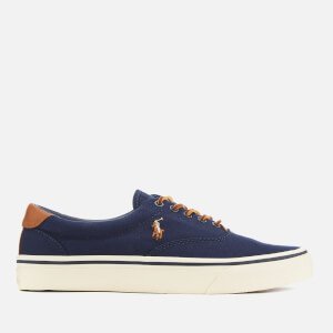 f99c3eec13f82 Polo Ralph Lauren Men s Thorton Ne Canvas Vulcanised Trainers - Newport Navy  Schnellansicht