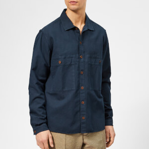 YMC Men's Doc Savage Shirt - Navy