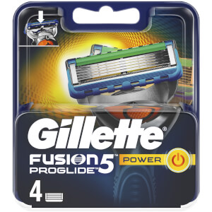 Gillette Fusion5 ProGlide Power Razor Blades (4 Pack)