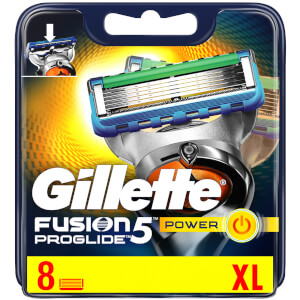 Fusion5 ProGlide Power Razor Blades - 8 Count