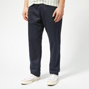Universal Works Men's Military Chinos - Twill Navy