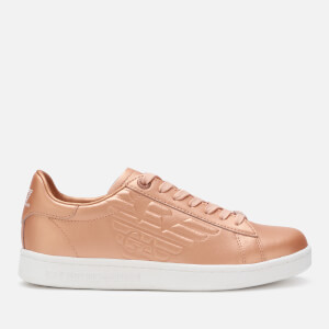 Emporio Armani EA7 Women's Classic New CC Trainers - Rose Gold