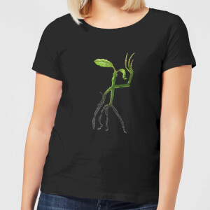 Fantastic Beasts Tribal Bowtruckle Women's T-Shirt - Black