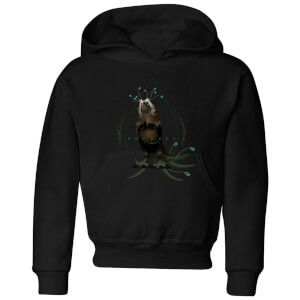 Fantastic Beasts Augurey Kids' Hoodie - Black