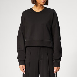 Y-3 Women's Yohji Love Crew Neck Sweatshirt - Black