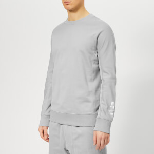 Y-3 Men's New Classic Crew Neck Sweatshirt - Kumo Grey