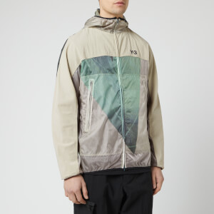 Y-3 Men's All Over Print Packable Jacket - Sail Salty Champagne