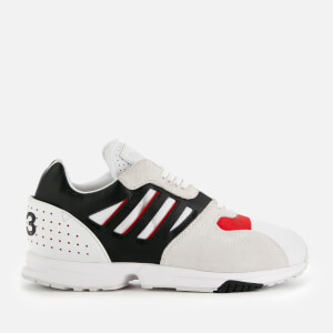 4a1d70a436d Y-3 Men s ZX Run Trainers - FTWR White Black