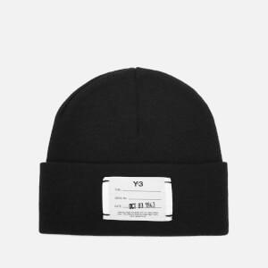 Y-3 Logo Beanie - Black