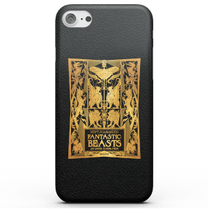 Fantastic Beasts Text Book Phone Case for iPhone and Android