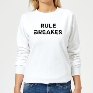 Rule Breaker Women's Sweatshirt - White