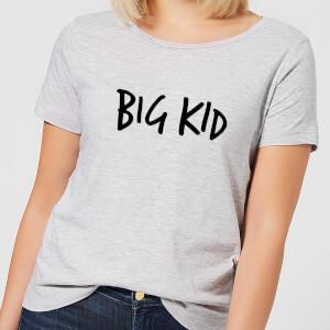 Big Kid Women's T-Shirt - Grey
