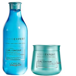 L'Oréal Professionnel Serie Expert Curl Contour duo shampoo e maschera per capelli ricci