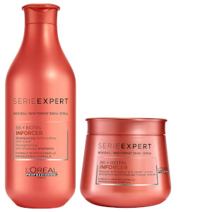 L'Oréal Professionnel Serie Expert Inforcer Shampoo and Masque Duo szampon i maska do włosów
