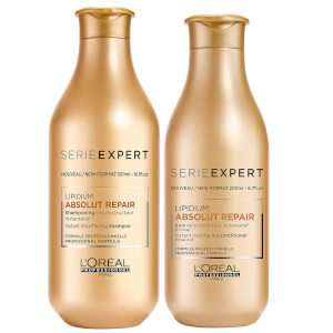 L'Oréal Professionnel Absolut Repair Lipidium Shampoo and Conditioner Duo