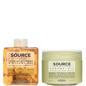 L'Oréal Professionnel Source Essentielle Dry Hair Shampoo and Hair Balm Duo 300ml