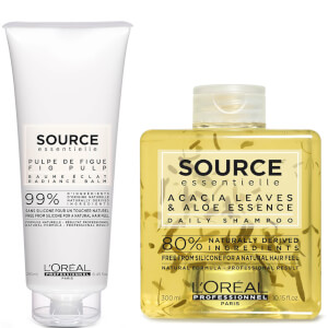 L'Oréal Professionnel Source Essentielle Daily Shampoo and Hair Balm Duo