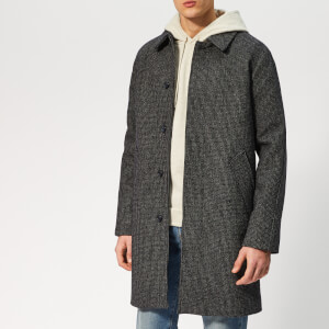 A.P.C. Men's Manteau Portobello Coat - Pia Merine Chine