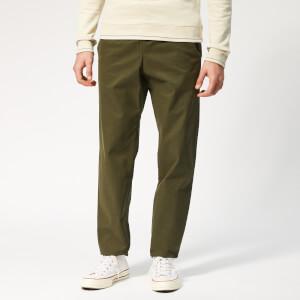 A.P.C. Men's Kaplan Trousers - Khaki Militaire