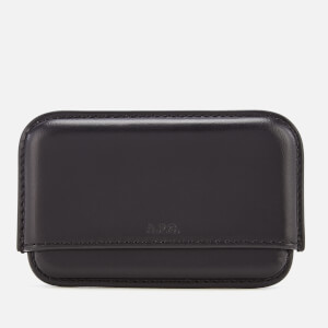 A.P.C. Men's Magna Carta Card Holder - Noir