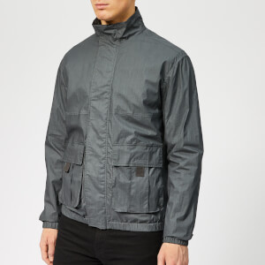 Woolrich Men's Papery Popeline Track Jacket - Asphalt